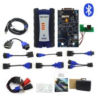 NEXIQ-2 USB Link Diesel Truck Diagnostic Tool NEXIQ2 With Plastic Box for Heavy Duty Truck NEXIQ-2 +Software With Bluetooth