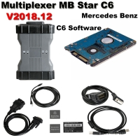 Benz C6 OEM Multiplexer MB Star C6 Mercedes Benz Xentry diagnosis VCI With Doip Fuction And V2018.12 Mercedes Xentry