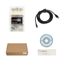 V1.95 KTMOBD Car ECU Programmer 2019 KTM OBD ECU Programmer With USB Dongle And KTM OBD Software